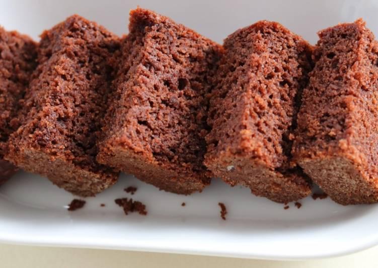 Eggless Ragi Chocolate Banana Cake/ Eggless Finger Millet Chocolate Banana Cake