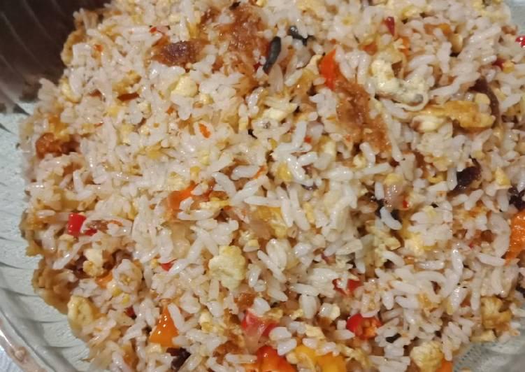 Nasi Goreng Sambal cakalang dan roa