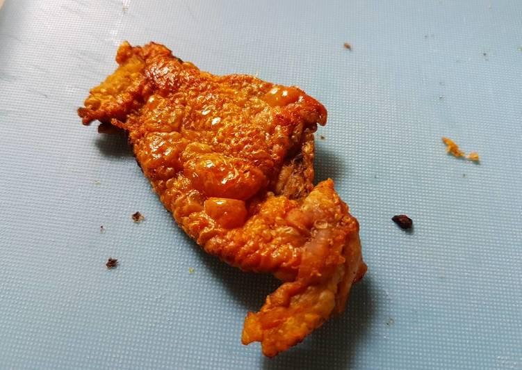 Crispy Chicken Skin