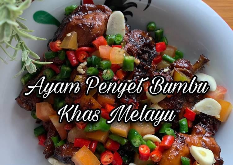 Ayam Penyet Bumbu khas Melayu