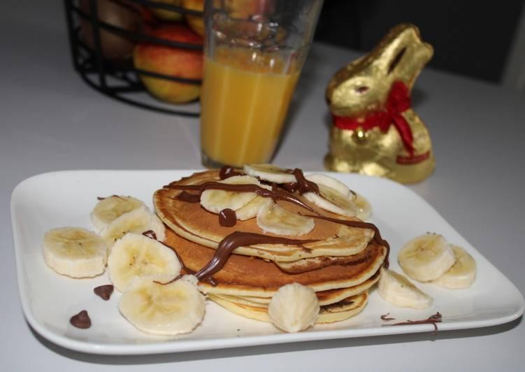 Recipe: Delicious Pancakes léger au fromage blanc WW