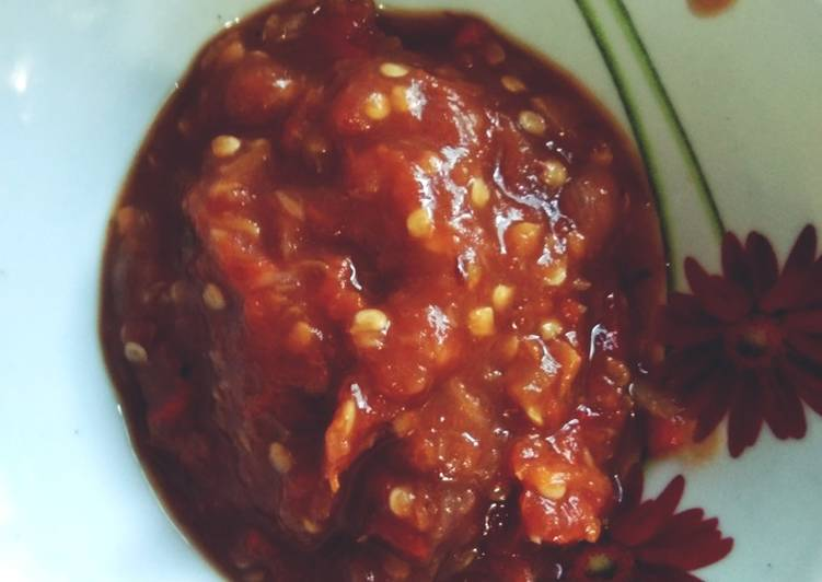 Sambal Tomat Simpel