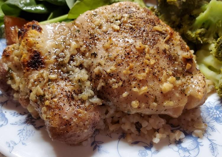 Baked Ranch Chicken Thighs
