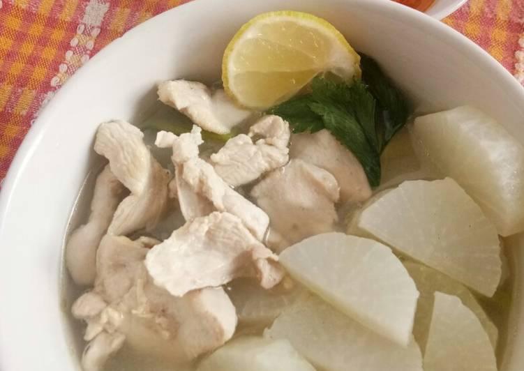 Soto Bandung (Ayam) Simple