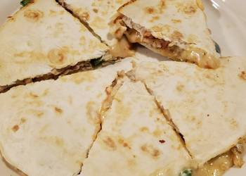 How to Cook Perfect Jalapeo Chicken Quesadilla