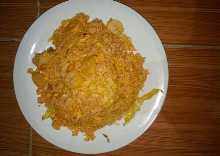 Resep Nasi goreng merah with roLade Sempurna