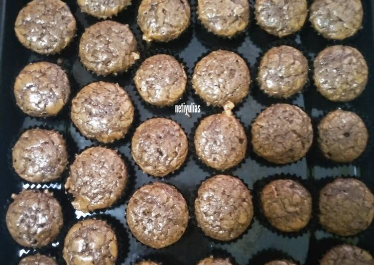 Brownies kering mini