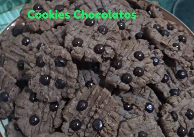 Cookies Chocolatos Teflon Renyah