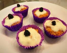 Carrot cake muffins fit y light sin harina ® muy fáciles 123 (saludables)