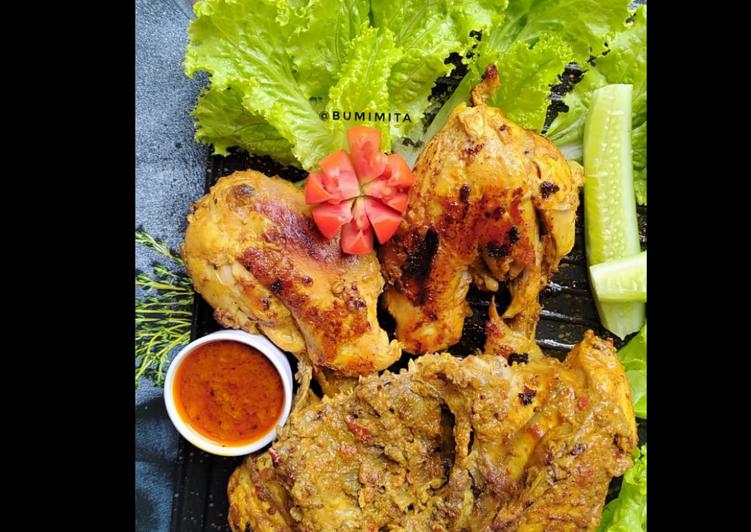 96. Ayam Bakar Bumbu Rujak (by Bumi Mita)