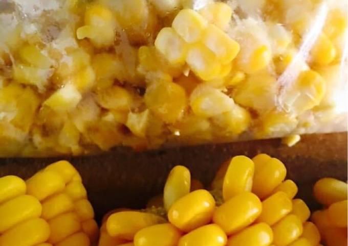 Frozen fresh corn..!!!🌽