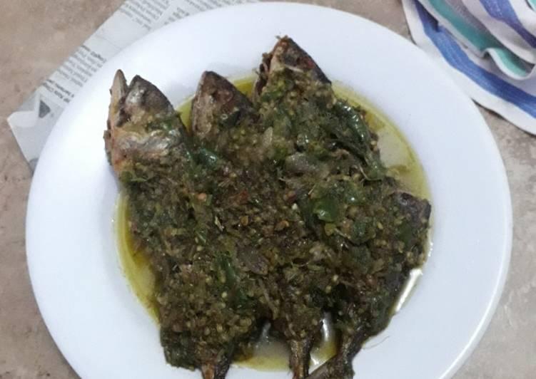 Ikan kembung cabe ijo