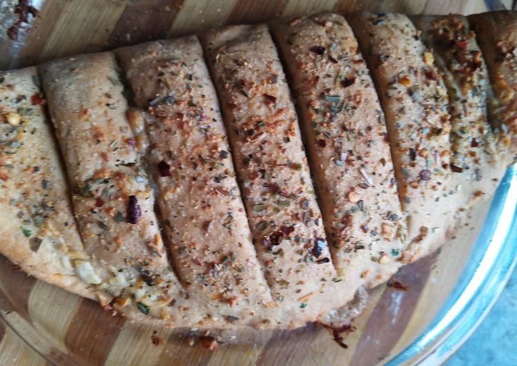 Aata garlic bread