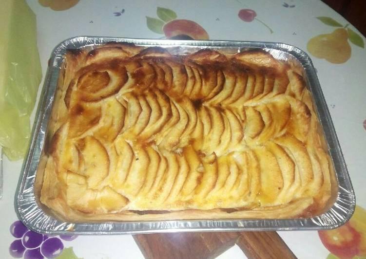 Tarta de manzana fácil y rápida