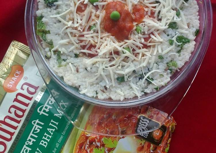 Steps to Make Award-winning Baked Millet with Bhaji