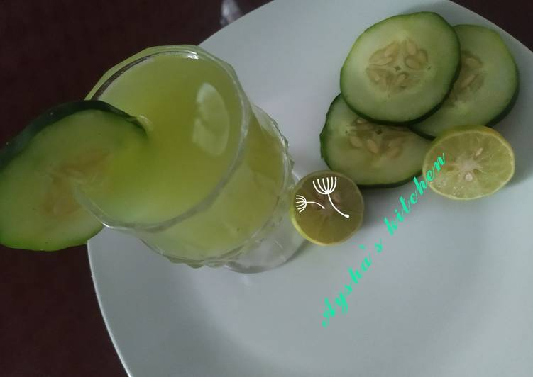 Recipe of Ultimate Cucumber lemonade