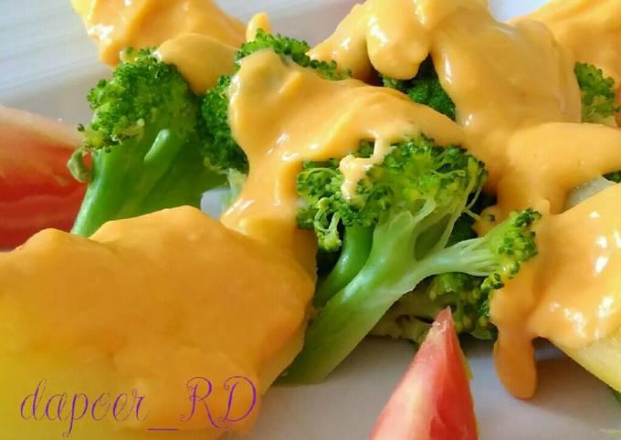Resep Brokoli Kentang Saus Keju, Menggugah Selera