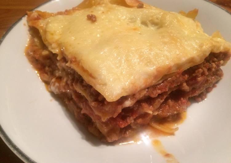 Recette Appétissante Lasagnes au bœuf
