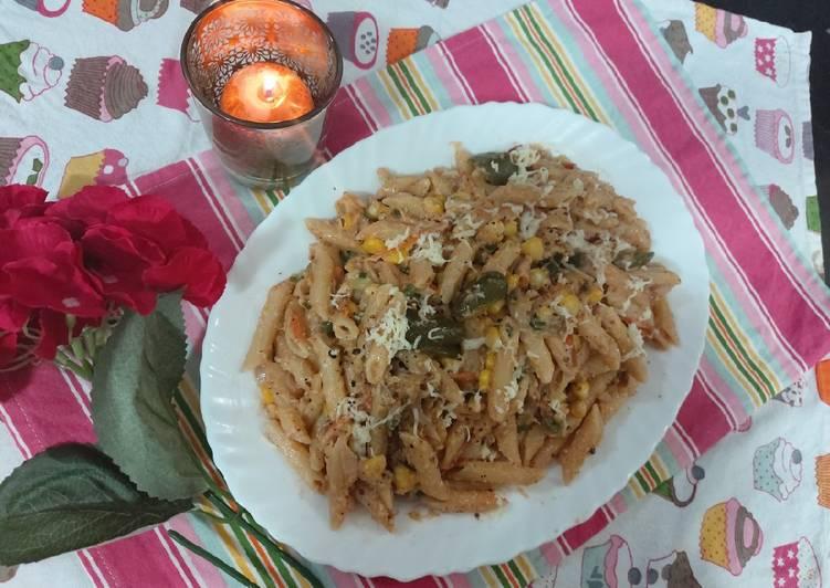 Easiest Way to Prepare Delicious White pasta