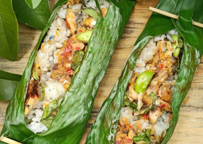 Nasi Bakar Pindang Tongkol