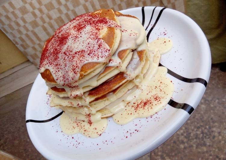 My fluffy pancakes recipe