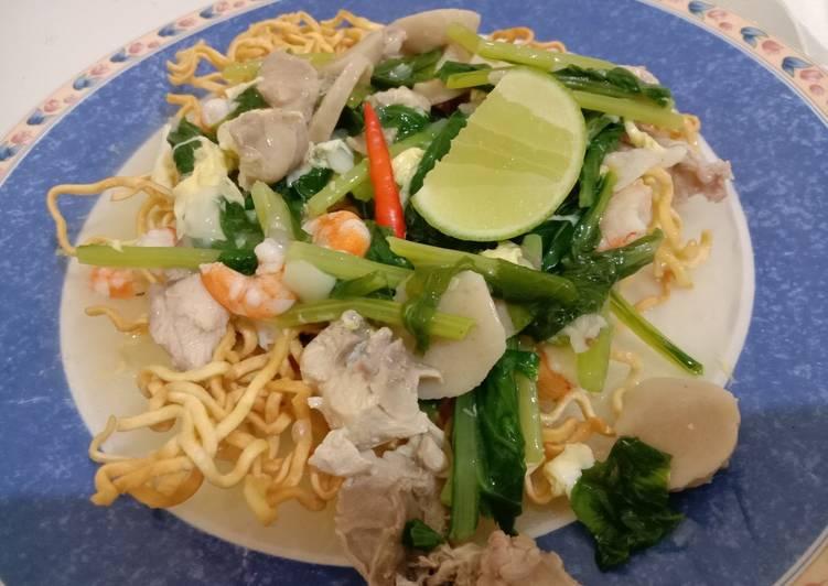 Cara Memasak Mie kering (Mie Titi) Makassar untuk jualan