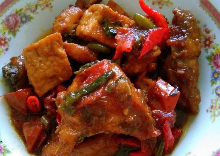 Resep Ayam Tahu Kecap Pedas Manis Oleh Mela Cookpad