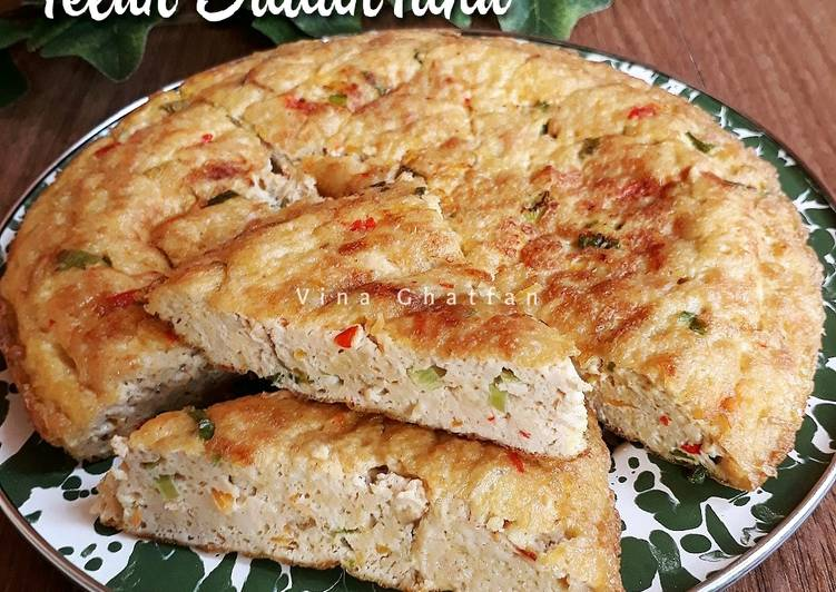 Resep Telur Dadar Tahu oleh vina ghatfan - Cookpad