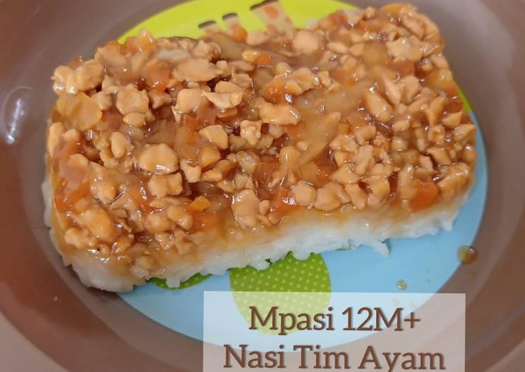 Mpasi 12M+ Nasi Tim Ayam