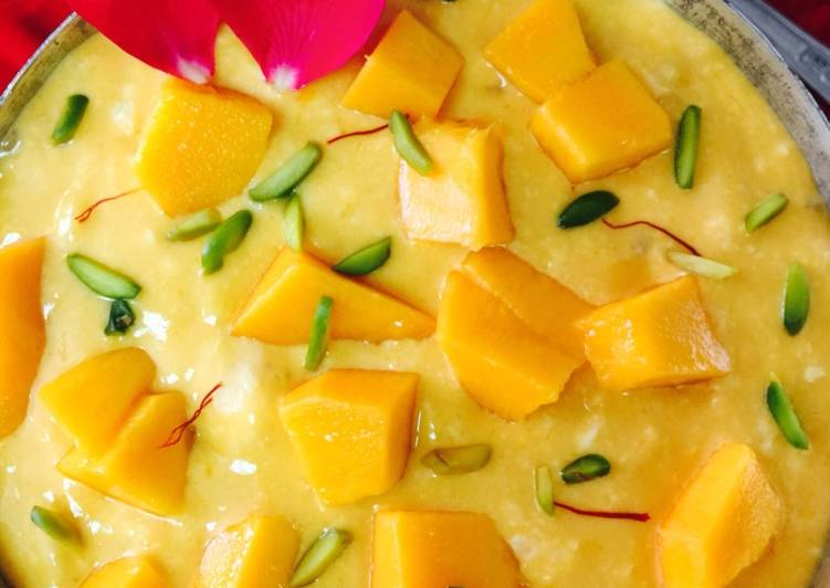 Recipe of Speedy Mango Sago Rabdi