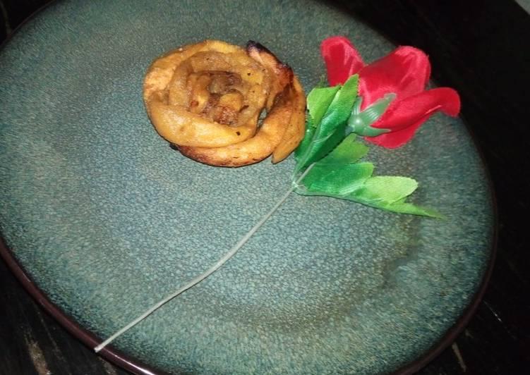 Rose petals plantain