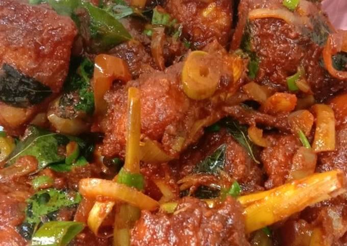 Ayam varuval spicy