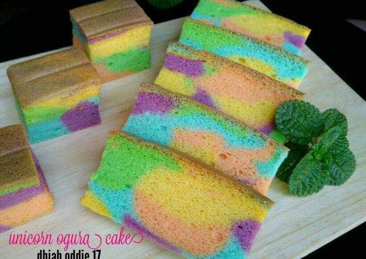 Mengulik Resep Unicorn Ogura Cake Yang