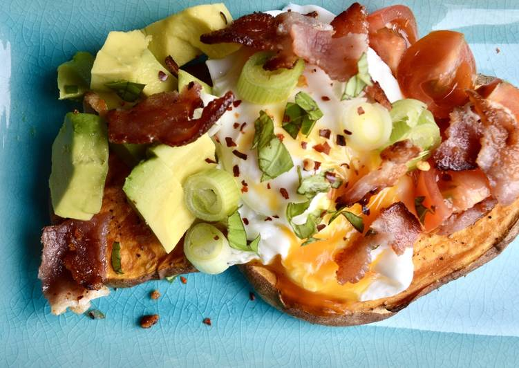 Recipe of Mexican Sweet Potato Toasts Tasty