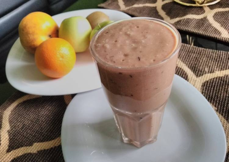 Mixed fruits healthy drink