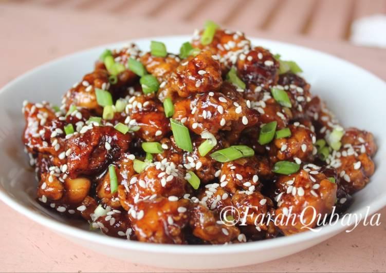 Resep Ayam Saus Wijen Oleh Farah Qubayla Cookpad
