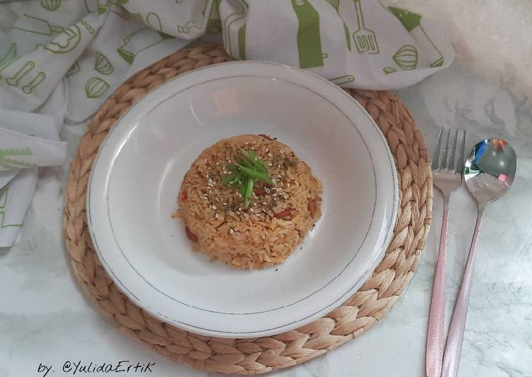 Nasi Goreng Telur Korea
