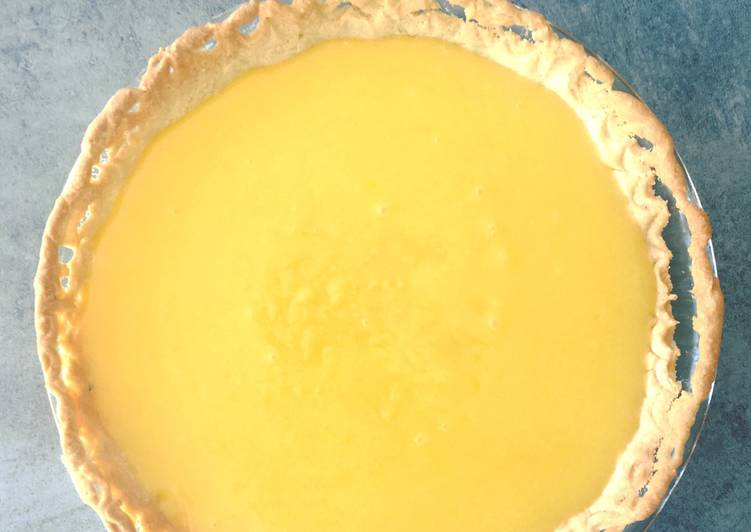 La Délicieuse Recette du Tarte au citron