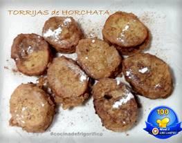 Torrijas de Horchata