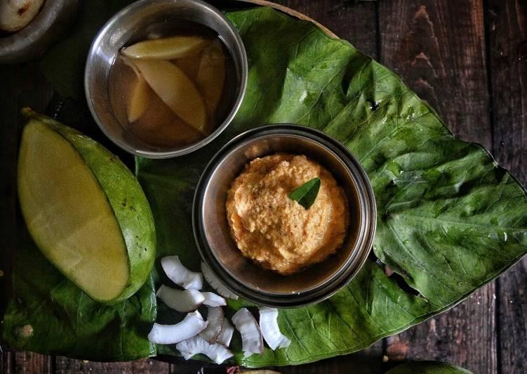 Recipe of Super Quick Homemade Brined Raw Mango Chutney