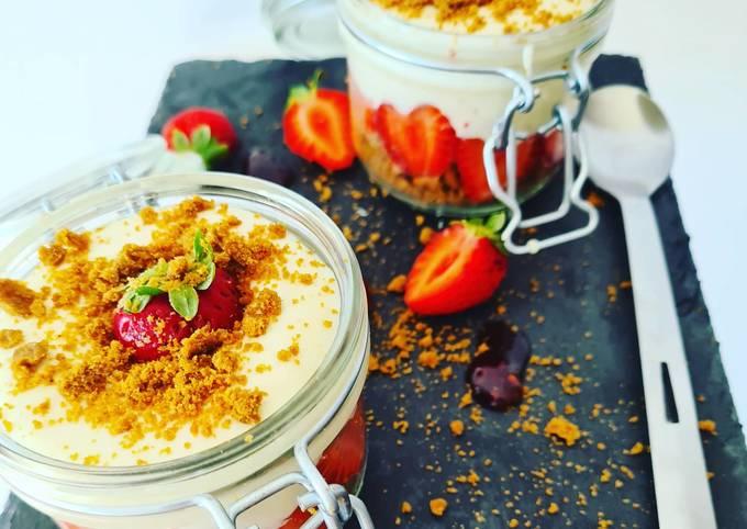 Tiramisu fraises et speculos