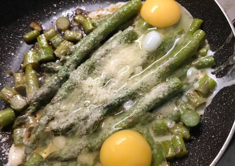 Easiest Way to Prepare Speedy Asparagus and eggs