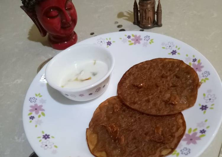 Steps to Make Speedy Desi Satvik Pancake