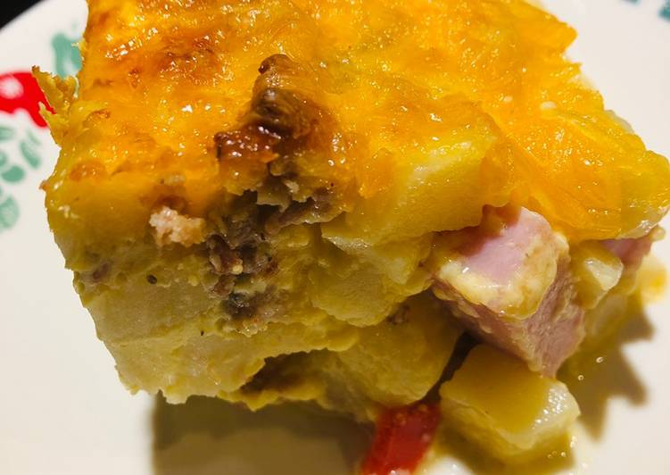 Meat Lovers Potato O'Brian Breakfast Casserole 🥘, Some Foods That Help Your Heart