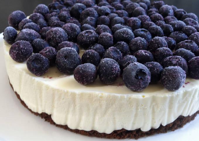 Recipe: Delicious No-Bake Yoghurt Cheesecake