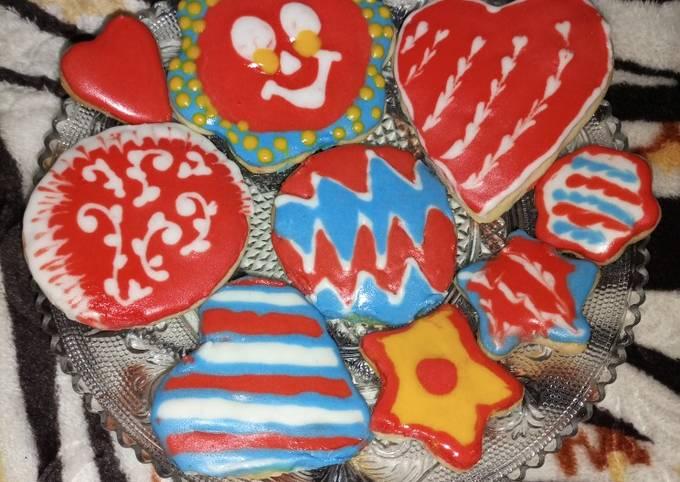 Easiest Way to Make Appetizing Royal icing Sugar cookies
