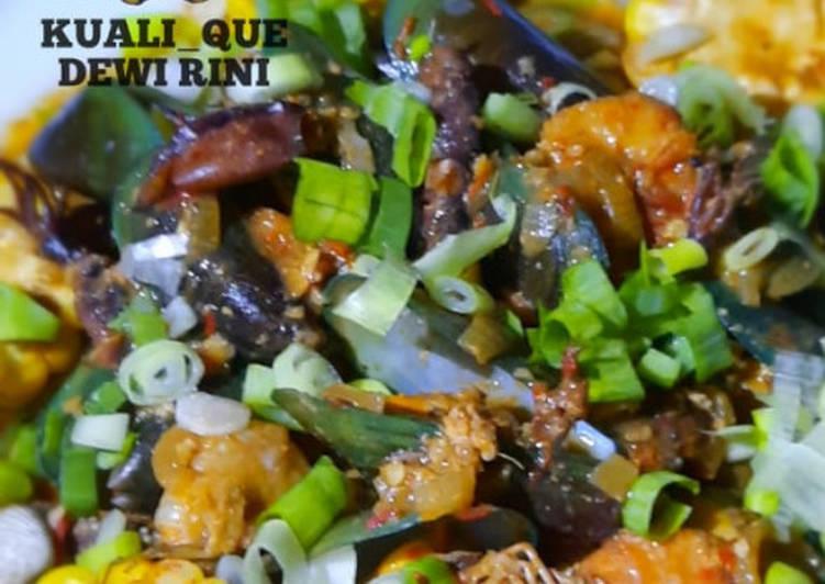 Tumplek Seafood Saos Padang