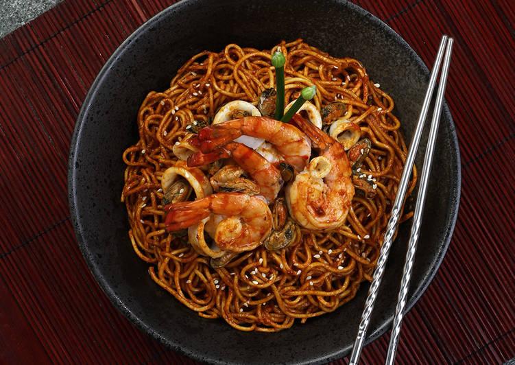Seafood Bibim Myun