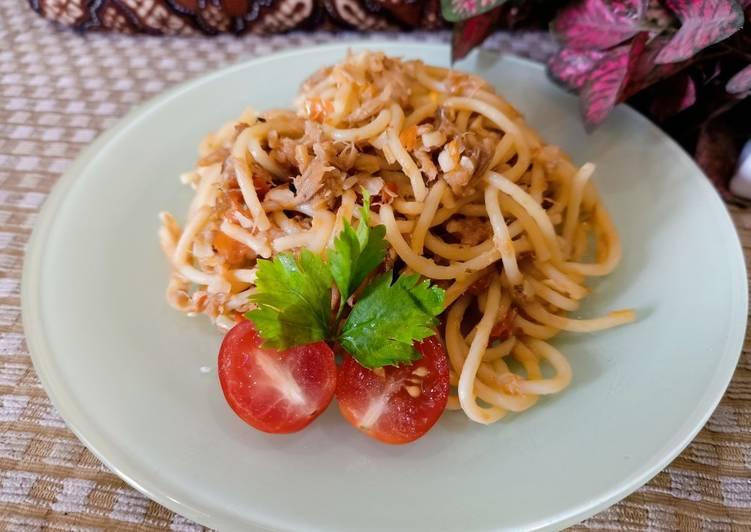 Spagheti Tuna Pedas