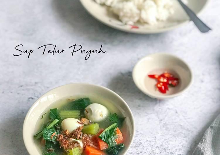 Sup Telur Puyuh - velavinkabakery.com
